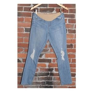 Articles of Society Maternity Jeans Ripped Skinny